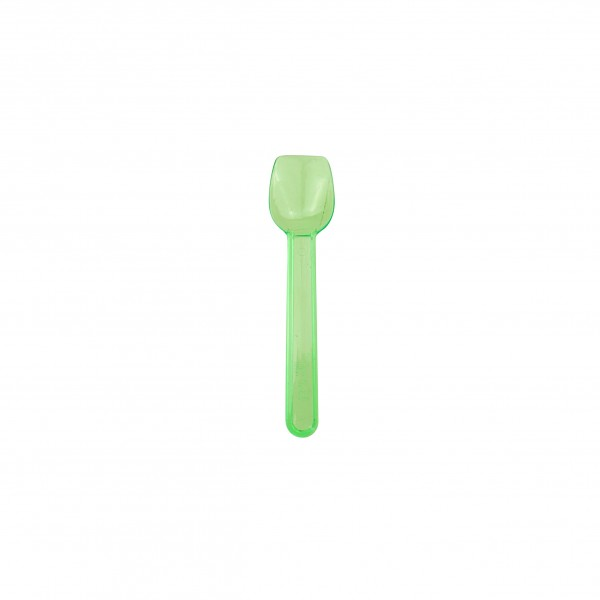 Green Plastic Gelato Spoons