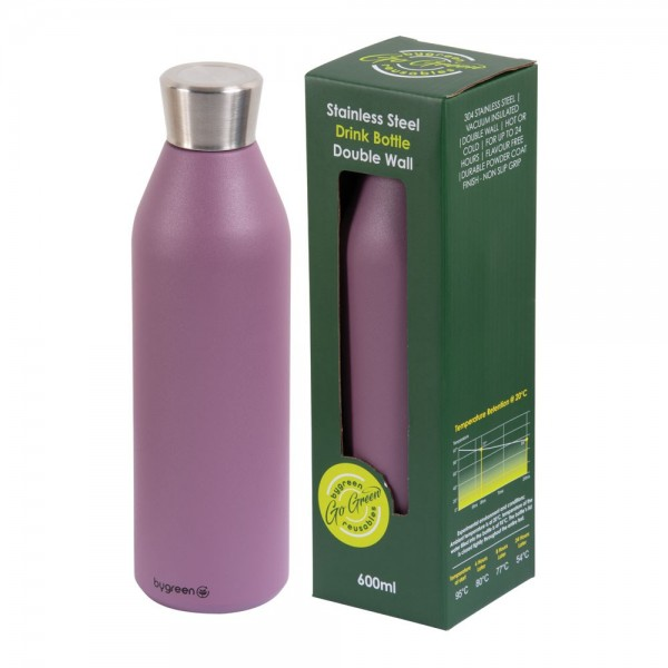 Berry Purple Stainless Steel Thermo Insulated Reusable Bottle