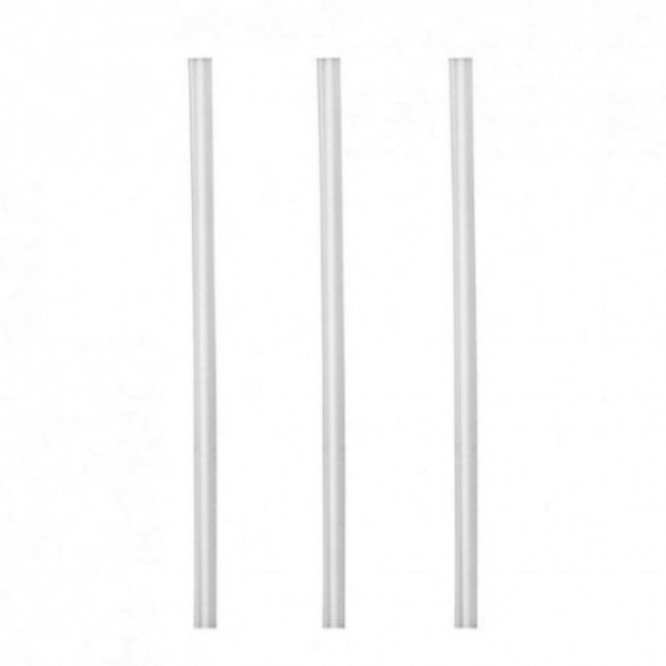 Clear Oxo-Biodegradable Thickshake Straws