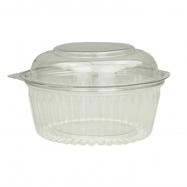 Clear Recyclable PET Plastic Salad Containers