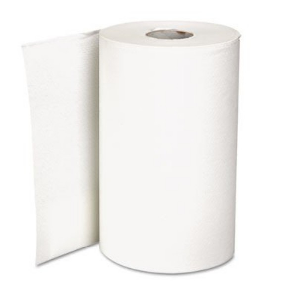 White Paper Perforated Paper Towels