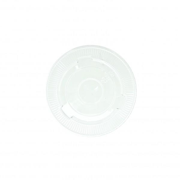 Clear Plastic Flat Lids
