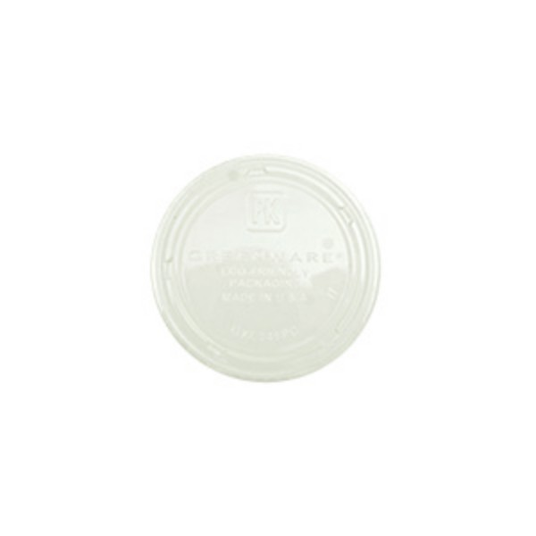 Clear Corn Starch Lids For: TP400ECO
