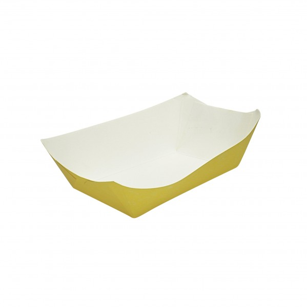Yellow Cardboard Food Trays