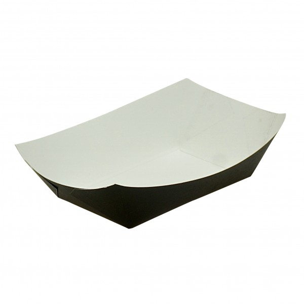 Black Cardboard Food Trays