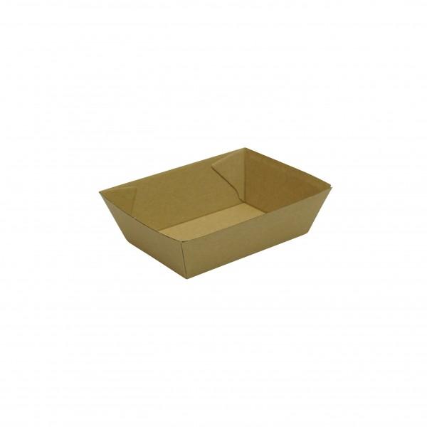 Kraft Corrugated Cardboard Kraft  tray