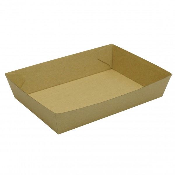 Kraft Cardboard Open Trays