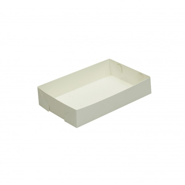 White Cardboard Food Trays