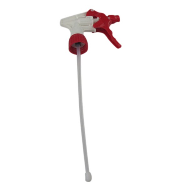 White Plastic Trigger For Clean Plus 500ml Spray Bottles