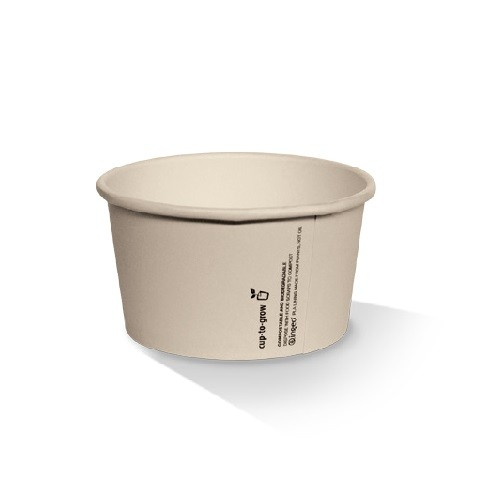Kraft Bamboo Paper Ice Cream Containers