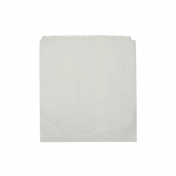White Greaeproof lined Paper Bags