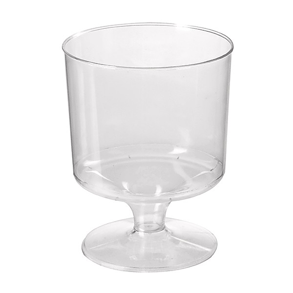 Transparent Plastic Wine Glasses