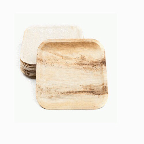 Brown Palm Leaf Plates